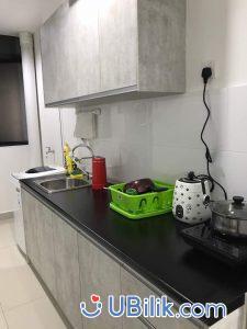 FFurnished Medium Room at You Vista Cheras 3 min walking to MRT Suntex KL Sentral Velocity BBintang ubilik room hostel rental_04